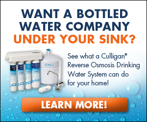 Culligan Reverse Osmosis Filter Offer